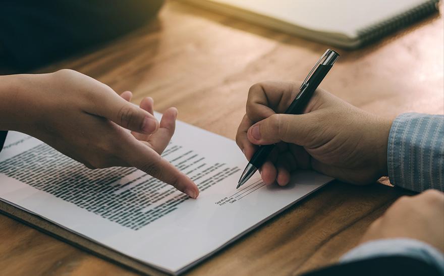 Osoba podpisująca umowa